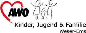 Logo_AWO Kinder, Jungend + Familie