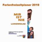 Ferienfreizeitplaner 2019 für Kinder und Jugendliche erschienen