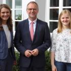 Angehende Medizinerinnen zu Besuch bei Landrat Kohlmeier – Beitrag zur hausärztlichen Versorgung im Landkreis