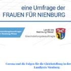 Die Corona-Pandemie und die Folgen für die Gleichberechtigung von Frauen und Männern in der Stadt und im Landkreis Nienburg –